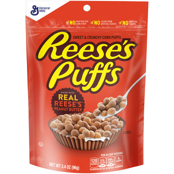 Reese's Puffs Cereal 3.4 oz. Pouch