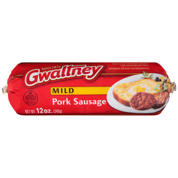 Gwaltney® Mild Pork Sausage 12 oz. Chub