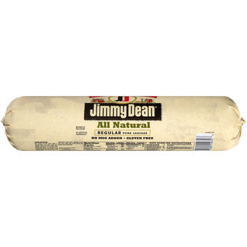 jimmy dean® all natural regular pork sausage