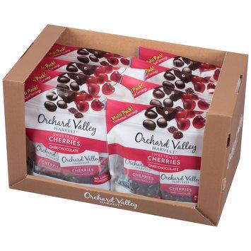 Orchard Valley Harvest® Dark Chocolate Sweetened Cherries 8-1 oz. Bags