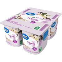 Great Value™ Vanilla Light Nonfat Yogurt 4-6 oz. Cups