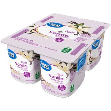 Great Value™ Vanilla Light Nonfat Yogurt