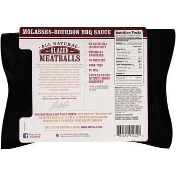 Aidells® Molasses-Bourbon BBQ Sauce All Natural Glazed Meatballs 12 oz. Sleeve