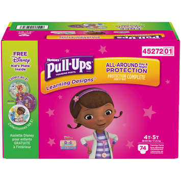 Pull-Ups Girls' Learning Designs Training Pants 4T-5T