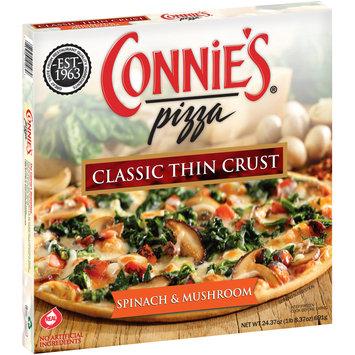 Connie's® Pizza Spinach & Mushroom Classic Thin Crust Pizza 24.37 oz. Box