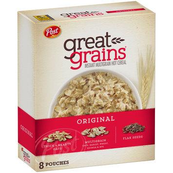 Post® Great Grains® Original Instant Multigrain Hot Cereal 11.8 oz. Box