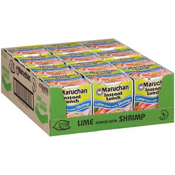 Maruchan® Instant Lunch™ Lime Flavor with Shrimp Ramen Noodle Soup 12-2.25 oz. Cups