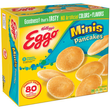 Kellogg's® Eggo® Mini Pancakes 80 ct Box
