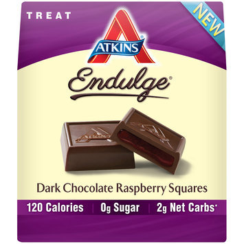 Atkins® Endulge® Dark Chocolate Raspberry Squares 6 oz. Box