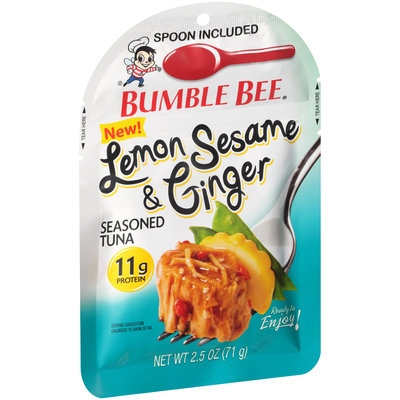 Bumble Bee® Lemon Sesame & Ginger Seasoned Tuna 2.5 oz. Pouch