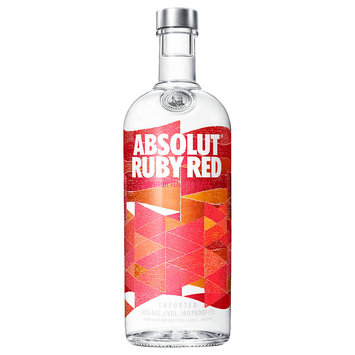 Absolut® Vodka Sweden Ruby Red 1L Bottle
