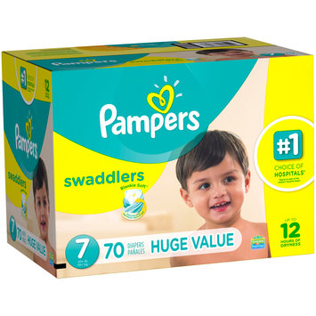 Pampers® Swaddlers™ Diapers Size 7