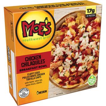 Moe's Southwest Grill® Chicken Chilaquiles Medium Breakfast Bowl 8 oz. Box