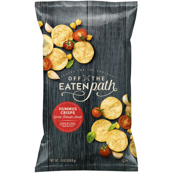 Off the Eaten Path™ Garlic Tomato Basil Hummus Crisps 19 oz. Bag