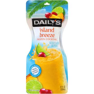 Daily's® Island Breeze Frozen Cocktail 10 fl. oz. Pouch