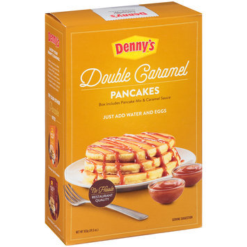 Denny's® Double Caramel Pancake Mix 19.5 oz. Box