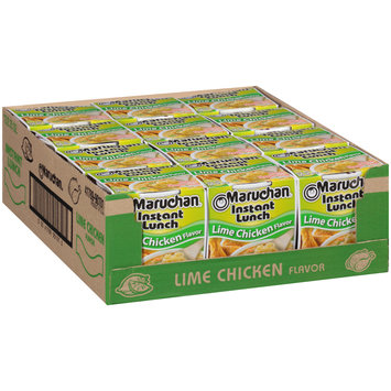Maruchan® Instant Lunch™ Lime Chicken Flavor Ramen Noodle Soup 12-2.25 oz. Cups