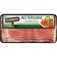 Smithfield® All Natural Naturally Applewood Smoked Uncured Bacon 10 oz. Pack