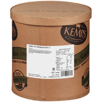 Kemps® 12% Premium Vanilla Ice Cream 3 gal. Tub