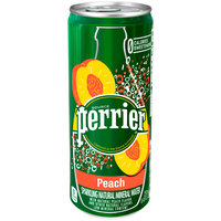 Perrier Peach Sparkling Natural Mineral Water