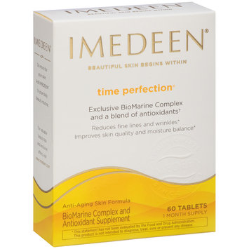 Imedeen® Time Perfection® Exclusive BioMarine Complex and Antioxidant Supplement Tablets 60 ct Box