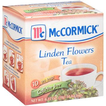 McCormick® Caffeine Free Linden Flowers Tea