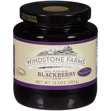 WindStone Farms All Natural Seedless Blackberry Jam