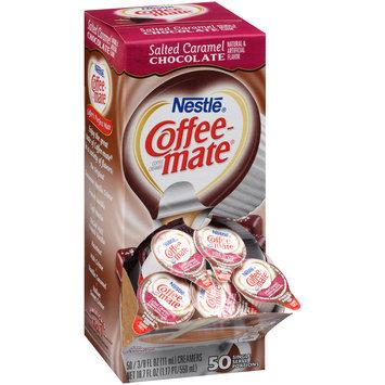 Nestle Coffee-mate Salted Caramel Chocolate Liquid Coffee Creamer 50-0.375 fl. oz. Tubs