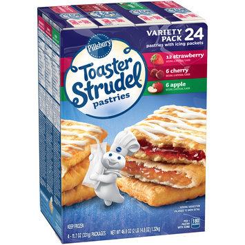 Pillsbury Toaster Strudel™ Strawberry/Cherry/Apple Toaster Pastries Variety Pack 4-6 ct Packs