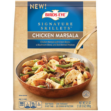 Birds Eye® Signature Skillets™ Chicken Marsala 21 oz. Bag