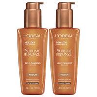 L'Oreal® Paris Sublime Bronze™ Medium Self-Tanning Serum 2-3.4 fl. oz. Pumps