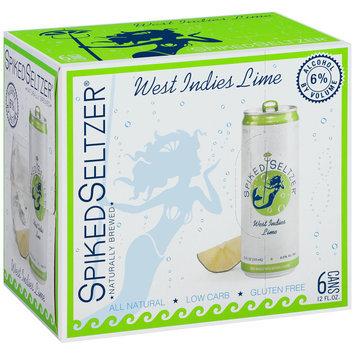 SpikedSeltzer® West Indies Lime Beer 6-12 fl. oz. Cans