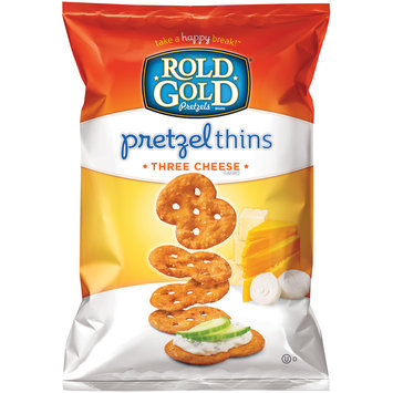 Rold Gold® Three Cheese Pretzel Thins 3 oz. Bag