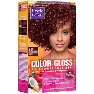 Softsheen-Carson® Dark And Lovely® Color-Gloss Ultra Radiant Color Creme 05R Medium Red Brown 1 kt Box