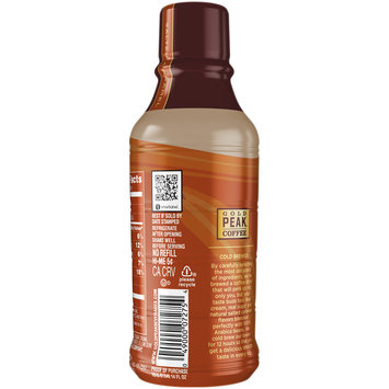 Gold Peak™ Salted Caramel Coffee Drink 14 fl. oz. Bottle