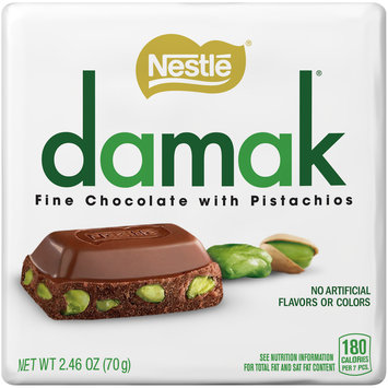 NESTLE DAMAK Chocolate with Pistachios 2.46 oz. Pack