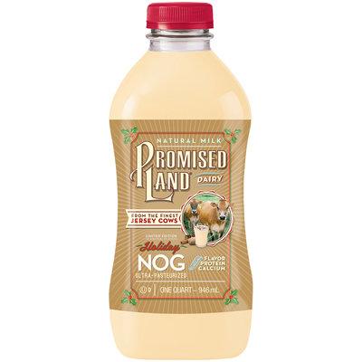Promised Land® Dairy Limited Edition Holiday Nog 32 fl. oz. Bottle