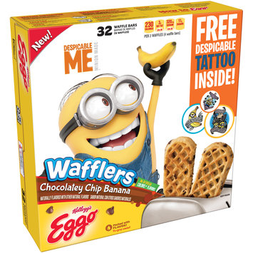 Kellogg's® Eggo® Wafflers® Chocolatey Chip Banana Waffles 21.4 oz. Box
