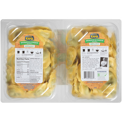 Rana™ Organic Spinach & Cheese Ravioli 2-18 oz. Packs
