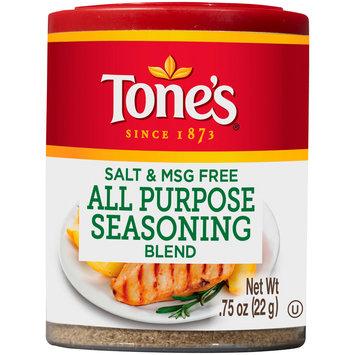 Tone's® Salt & MSG Free All Purpose Seasoning 0.75 oz. Shaker