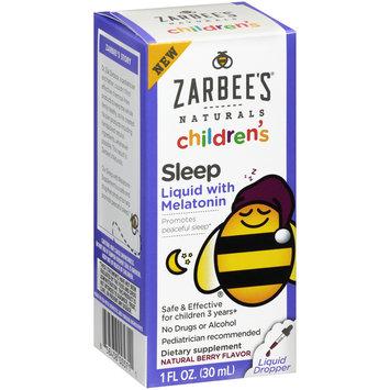Zarbee's Naturals Children's Sleep Liquid with Melatonin, 1 fl. oz. Box