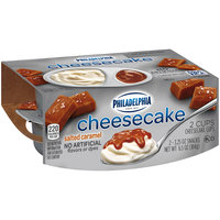 Philadelphia Salted Caramel Cheesecake Snacks 2-3.25 oz. Cups