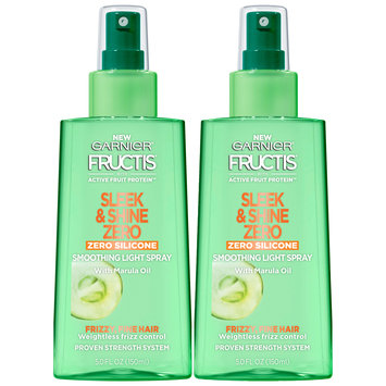 Garnier® Fructis® Sleek & Shine Zero Smoothing Light Spray 2-5.0 fl. oz. Bottles