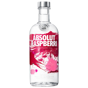 Absolut® Vodka Sweden Raspberri 750ml Bottle