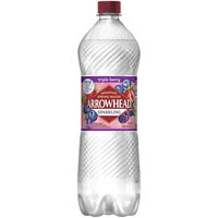ARROWHEAD Sparkling Mountain Spring Water Triple Berry 1L Bottle