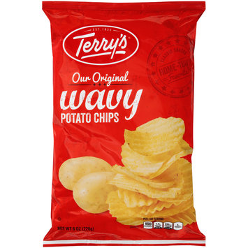 Terry's® Our Original Wavy Potato Chips 8 oz. Bag