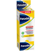 Panadol® Cold+Flu Non-Drowsy Pain Reliever/Fever Reducer/Nasal Decongestant Caplets 50-2 ct Packets