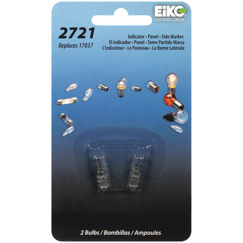 EiKO® 2721 Auto Replacement Bulbs 2 ct Carded Pack