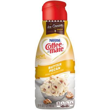 Nestle Coffeemate Butter Pecan Liquid Coffee Creamer 16 fl. oz. Bottle