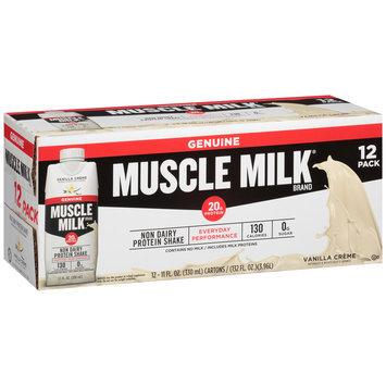 Muscle Milk® Vanilla Creme Non Dairy Protein Shake 12-11 fl. oz. Cartons